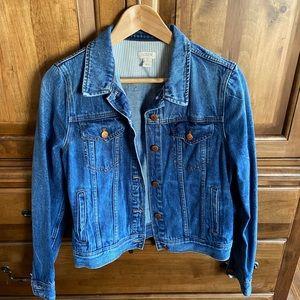 J. crew jean jacket-timeless!!!